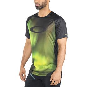 Oakley MTB Camiseta Tech Manga Corta Hombre, aurora borealis
